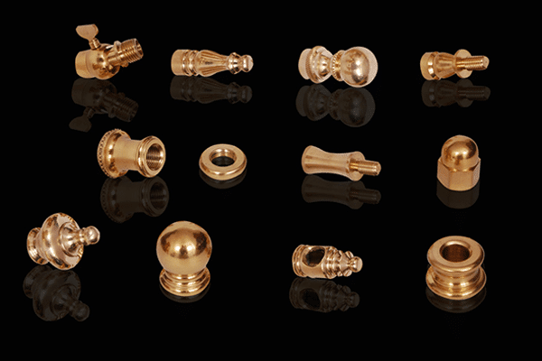 Brass Lamp Parts in India
