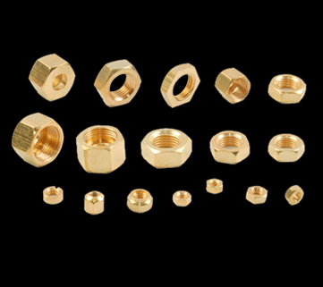 Brass Lock Nuts Manufacturer, Exporter